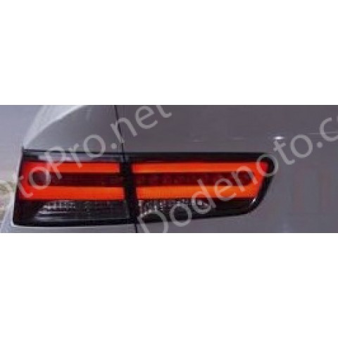 Độ đèn hậu LED khối cho xe Kia Forte Koup