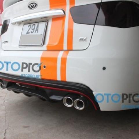 Đuôi pô thể thao dành cho xe Forte N02-021