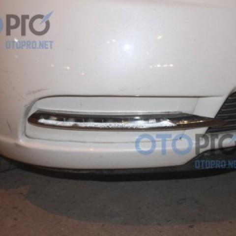 Độ đèn gầm LED daylight cho xe Kia Forte