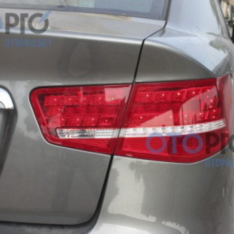 Đèn hậu độ LED nguyên bộ cho Kia Forte kiểu Mercedes