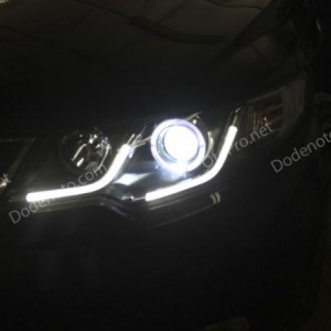 Đèn pha độ LED nguyên bộ cho Forte mẫu LED khối
