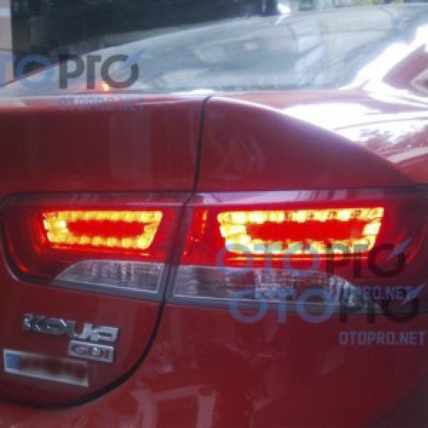 Đèn hậu độ LED nguyên bộ cho xe Forte Koup