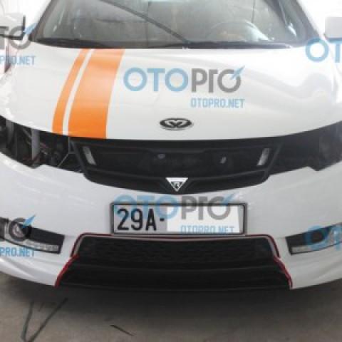 Mặt ca lăng cho xe Kia Forte mẫu Road Run