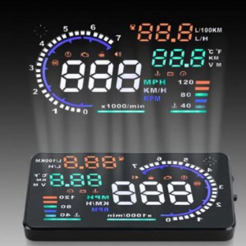 Bộ hiển thị tốc độ trên kính lái HUD A8 cho xe kia K3