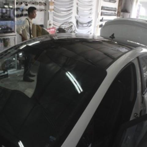 Dán nóc đen Panorama cho xe Kia K3