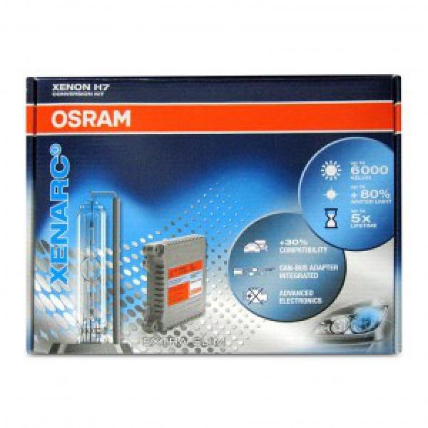 Độ Đèn Xenon Osram H7 6000K cho xe Kia K3