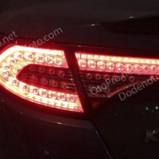 Đèn hậu độ LED nguyên bộ cho xe Kia K5