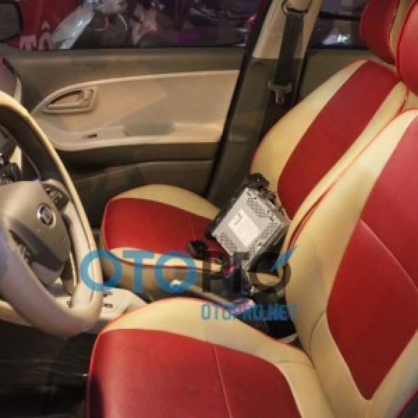 Bọc đệm ghế da cho Kia Morning Van 2012