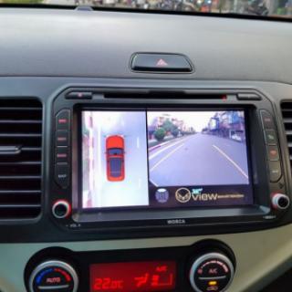Camera 360 cho xe Kia Morning