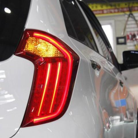 Đèn hậu LED nguyên bộ cho xe Kia Morning 2012