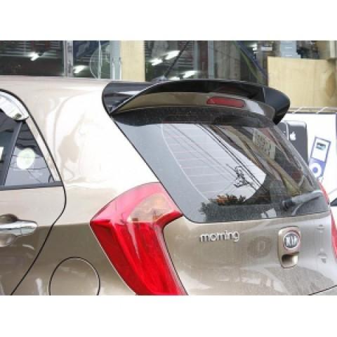 Đuôi gió nóc kính hậu có đèn LED cho Kia Morning 2012