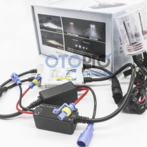 Bộ bóng xenon tăng sáng, ballast Venture H11 ánh sáng 6000k xe Kia Rondo