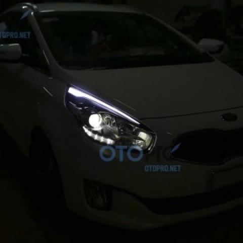 Độ LED mí khối cho xe Kia Rondo