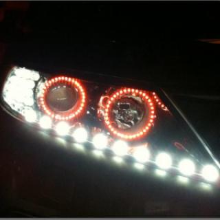 Bộ Module đèn pha độ 3 chi tiết Sorento R