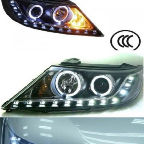 Đèn pha LED nguyên bộ cả vỏ kèm Projector cho Kia Sorento 2012