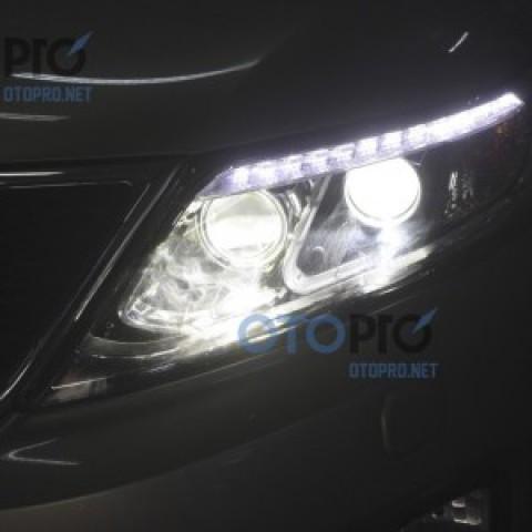 Kia Sorento 2015 độ đèn bi xenon chóa pha