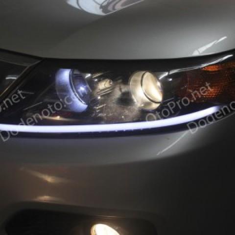 Độ dải LED mí khối cho xe Kia Sorento