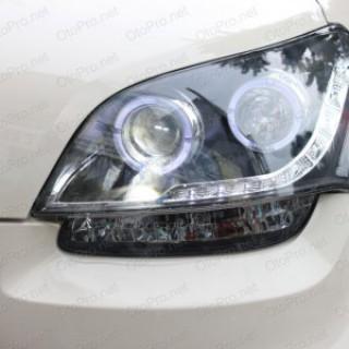 Đèn pha độ LED nguyên bộ cho xe Kia Soul