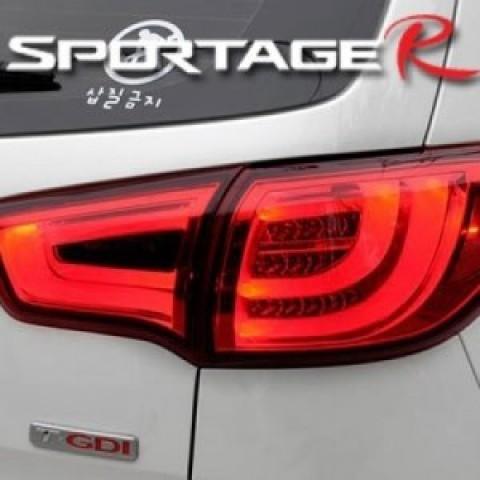 Đèn hậu độ LED nguyên bộ cho Kia Sportage R mẫu BMW