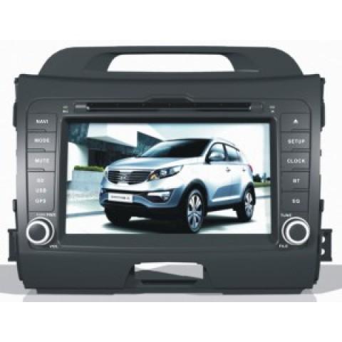 Màn hình đầu DVD xe Kia Sportage 2010-2013
