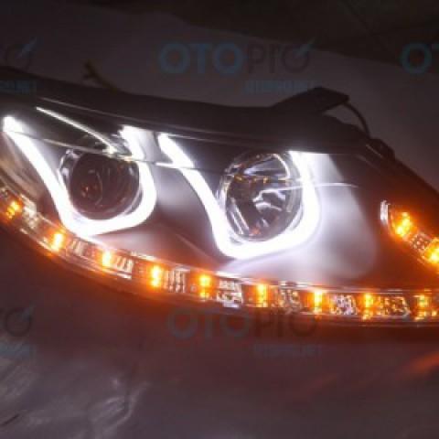 Đèn pha độ LED nguyên bộ cho xe Kia Sportage R mẫu 3