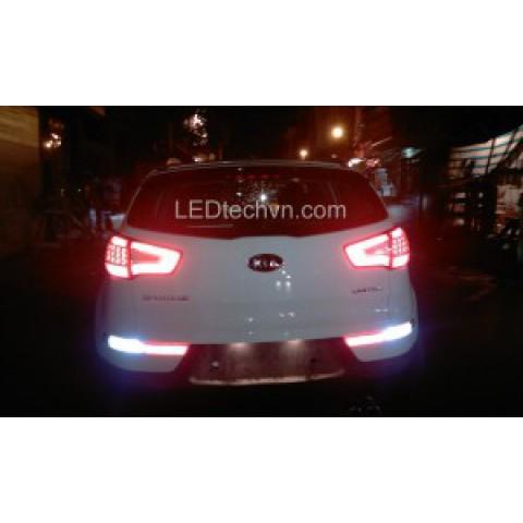 Độ đèn hậu LED khối cho Kia Sportage