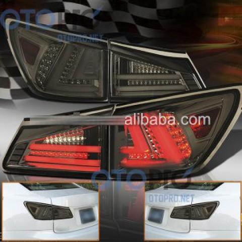 Đèn hậu độ LED nguyên bộ Lexus IS250-300 06-12 màu khói