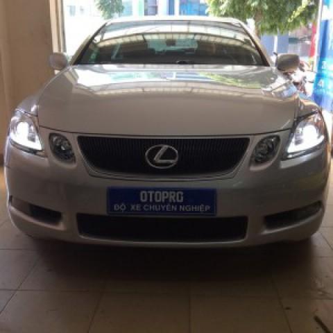 Lexus GS350 thay đèn nguyên bộ