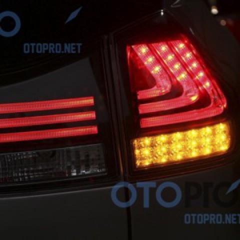 Đèn hậu độ LED nguyên bộ cho xe Lexus RX300-RX330-RX350 mầu khói