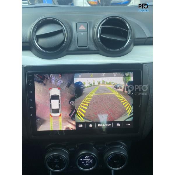 Suzuki Swift lắp màn hình Elliview