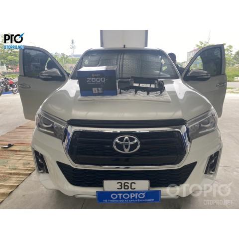 Toyota Hilux 2018 lắp màn hình Zestech Z800 Pro+ & Camera 360