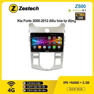 Màn hình ô tô DVD Android Z500 – Kia Forte