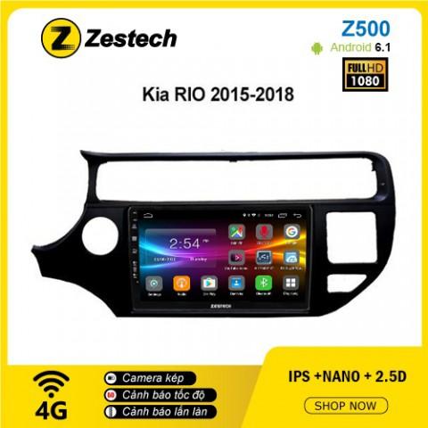 Màn hình ô tô DVD Android Z500 – Kia Rio