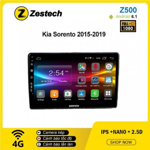 Màn hình ô tô DVD Android Z500 – Kia Sorento