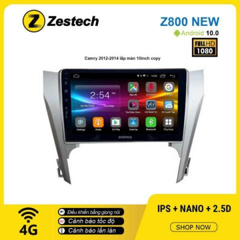 Màn hình ô tô DVD Android Z800 New – Toyota Camry 2012 – 2014