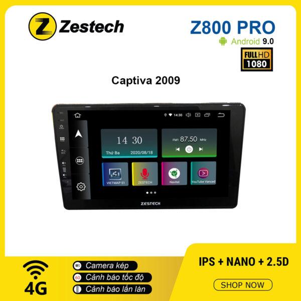 Màn hình ô tô DVD Z800 Pro – Chevrolet Captiva 2009