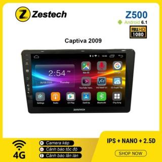 Màn hình Ô tô DVD Android Z500 – Chevrolet Captiva 2009