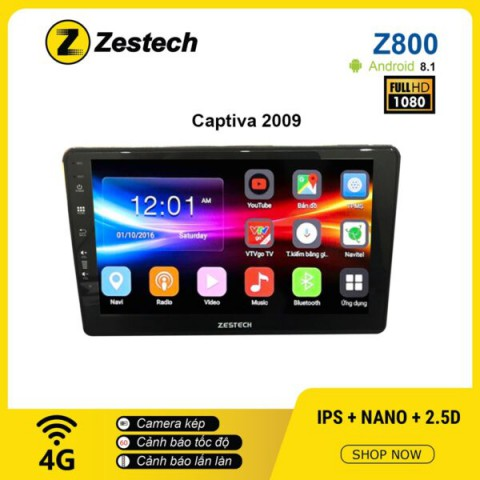 Màn hình ô tô DVD Android Z800 – Chevrolet Captiva 2009