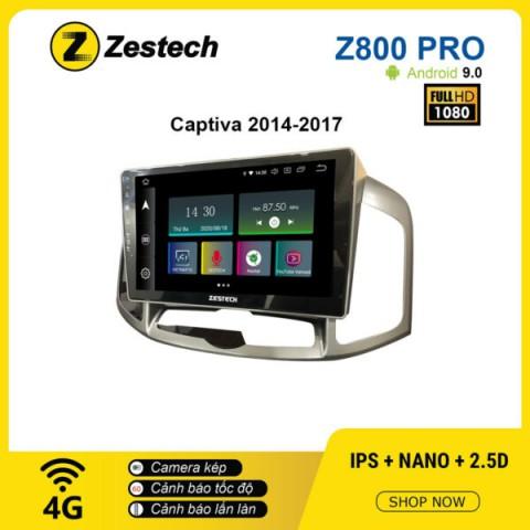 Màn hình ô tô DVD Z800 Pro – Chevrolet Captiva 2014 – 2017