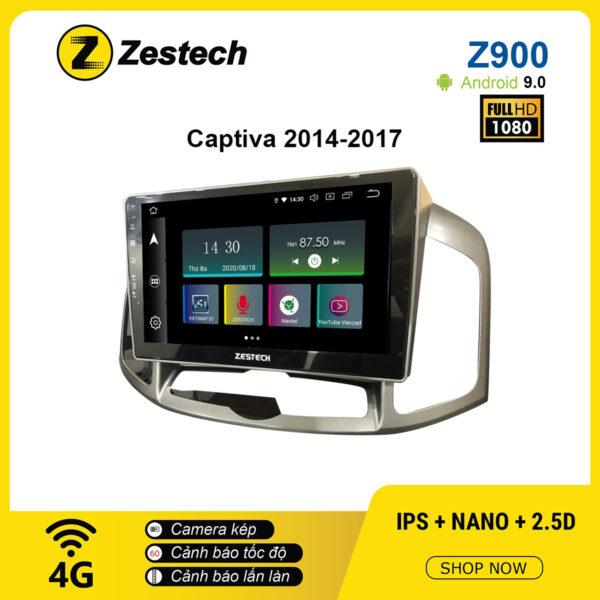 Màn hình ô tô DVD Android Z900 – Chevrolet Captiva 2014 – 2017