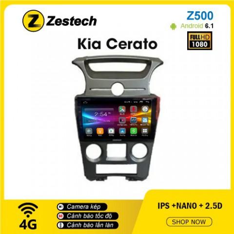 Màn hình ô tô DVD Android Z500 – Kia Cerato