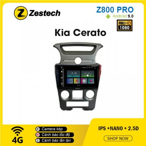 Màn hình ô tô DVD Z800 Pro – Kia Cerato