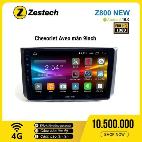Màn hình ô tô DVD Android Z800 New – Chevrolet Aveo