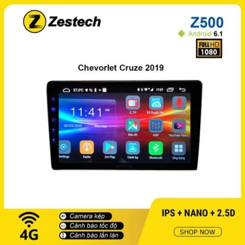 Màn hình Ô tô DVD Android Z500 – Chevrolet Cruze