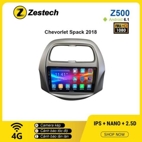 Màn hình ô tô DVD Android Z500 – Chevrolet Spark 2018