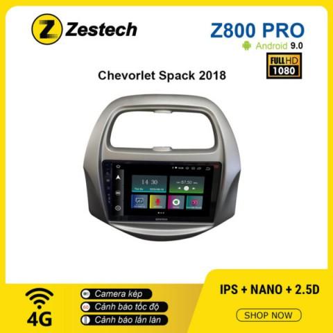 Màn hình ô tô DVD Z800 Pro – Chevrolet Spark 2018