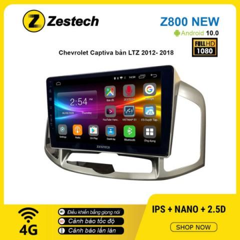 Màn hình ô tô DVD Android Z800 New – Chevrolet Captiva bản LTZ 2012 – 2018