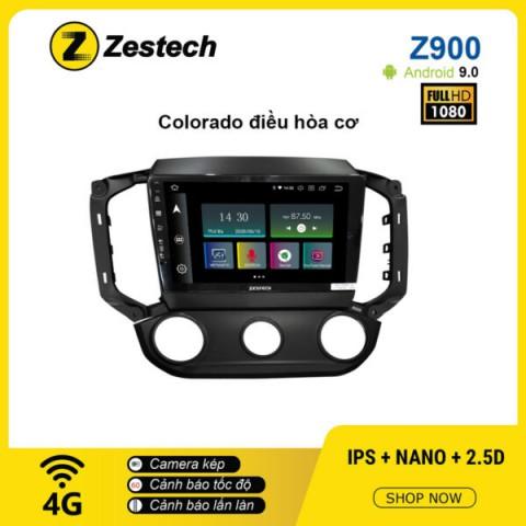 Màn hình ô tô DVD Android Z900 – Chevrolet Colorado điều hòa cơ