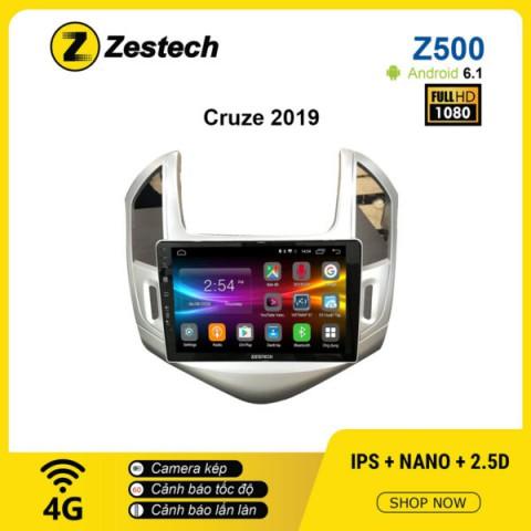 Màn hình ô tô DVD Android Z500 – Chevrolet Cruze 2019