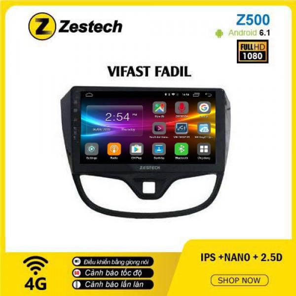 Màn hình ô tô DVD Android Z500 – Vinfast Fadil